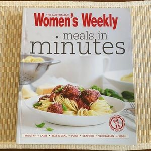 Women's Weekly Meals in Minutes
